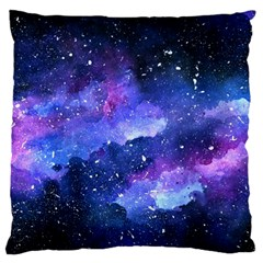Galaxy Large Flano Cushion Case (two Sides) by Kathrinlegg