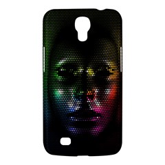 Digital Art Psychedelic Face Skull Color Samsung Galaxy Mega 6 3  I9200 Hardshell Case by BangZart