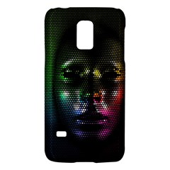 Digital Art Psychedelic Face Skull Color Galaxy S5 Mini by BangZart