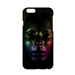 Digital Art Psychedelic Face Skull Color Apple Iphone 6/6s Hardshell Case by BangZart