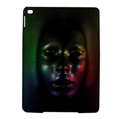 Digital Art Psychedelic Face Skull Color Ipad Air 2 Hardshell Cases