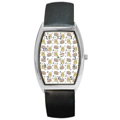 Cute Hamster Pattern Barrel Style Metal Watch by BangZart
