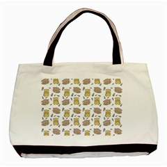 Cute Hamster Pattern Basic Tote Bag (two Sides)