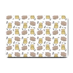Cute Hamster Pattern Small Doormat  by BangZart