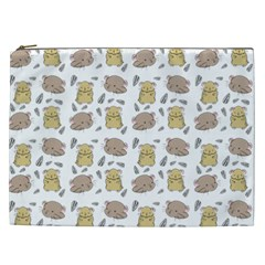Cute Hamster Pattern Cosmetic Bag (xxl)