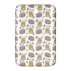 Cute Hamster Pattern Samsung Galaxy Note 8 0 N5100 Hardshell Case  by BangZart