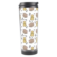 Cute Hamster Pattern Travel Tumbler by BangZart