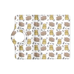 Cute Hamster Pattern Kindle Fire Hd (2013) Flip 360 Case by BangZart