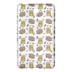 Cute Hamster Pattern Samsung Galaxy Tab 4 (8 ) Hardshell Case  by BangZart