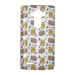 Cute Hamster Pattern Lg G4 Hardshell Case by BangZart