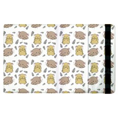 Cute Hamster Pattern Apple Ipad Pro 9 7   Flip Case by BangZart