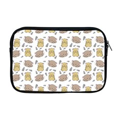 Cute Hamster Pattern Apple Macbook Pro 17  Zipper Case by BangZart