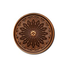 Decorative Antique Gold Magnet 3  (round) by BangZart