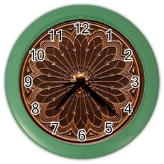 Decorative Antique Gold Color Wall Clocks by BangZart