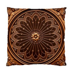 Decorative Antique Gold Standard Cushion Case (two Sides) by BangZart