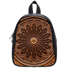 Decorative Antique Gold School Bags (small)