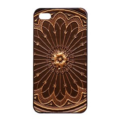 Decorative Antique Gold Apple Iphone 4/4s Seamless Case (black) by BangZart
