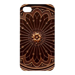 Decorative Antique Gold Apple Iphone 4/4s Hardshell Case by BangZart