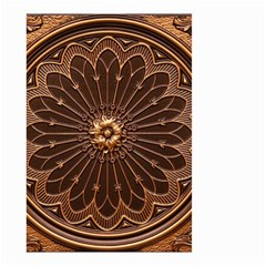 Decorative Antique Gold Small Garden Flag (two Sides) by BangZart