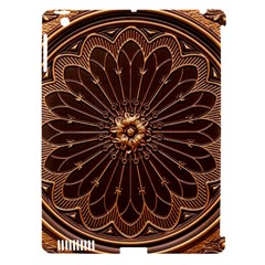 Decorative Antique Gold Apple Ipad 3/4 Hardshell Case (compatible With Smart Cover) by BangZart