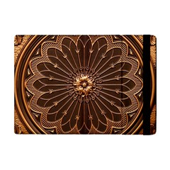Decorative Antique Gold Apple Ipad Mini Flip Case