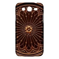 Decorative Antique Gold Samsung Galaxy Mega 5 8 I9152 Hardshell Case  by BangZart