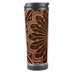 Decorative Antique Gold Travel Tumbler by BangZart