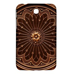 Decorative Antique Gold Samsung Galaxy Tab 3 (7 ) P3200 Hardshell Case  by BangZart