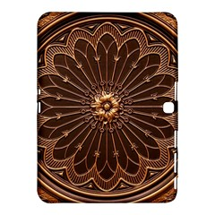 Decorative Antique Gold Samsung Galaxy Tab 4 (10 1 ) Hardshell Case  by BangZart
