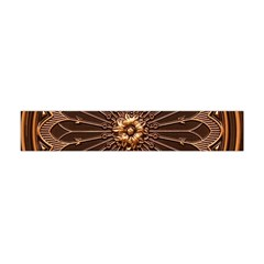 Decorative Antique Gold Flano Scarf (mini)