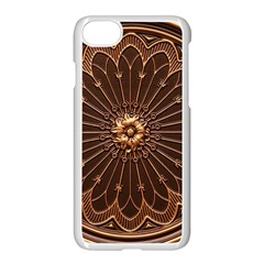 Decorative Antique Gold Apple Iphone 7 Seamless Case (white) by BangZart