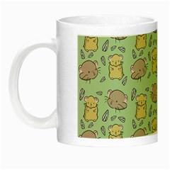 Cute Hamster Pattern Night Luminous Mugs by BangZart