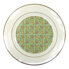 Cute Hamster Pattern Porcelain Plates