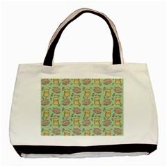 Cute Hamster Pattern Basic Tote Bag by BangZart