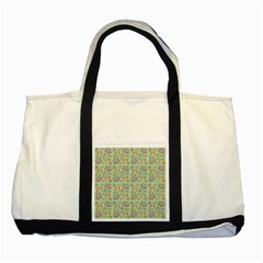 Cute Hamster Pattern Two Tone Tote Bag