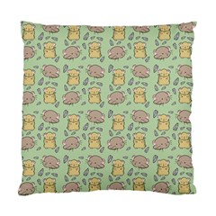 Cute Hamster Pattern Standard Cushion Case (two Sides)