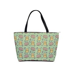 Cute Hamster Pattern Shoulder Handbags
