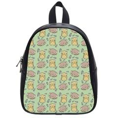 Cute Hamster Pattern School Bags (small)  by BangZart