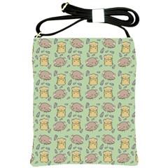 Cute Hamster Pattern Shoulder Sling Bags by BangZart