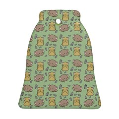 Cute Hamster Pattern Ornament (bell)