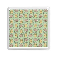 Cute Hamster Pattern Memory Card Reader (square)