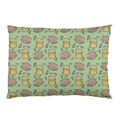 Cute Hamster Pattern Pillow Case (two Sides)
