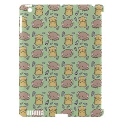 Cute Hamster Pattern Apple Ipad 3/4 Hardshell Case (compatible With Smart Cover)