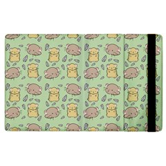 Cute Hamster Pattern Apple Ipad 3/4 Flip Case by BangZart