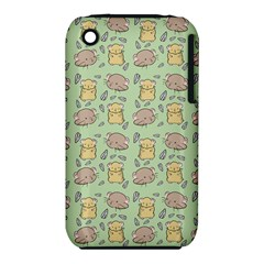 Cute Hamster Pattern Iphone 3s/3gs by BangZart