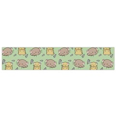 Cute Hamster Pattern Flano Scarf (small)