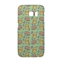 Cute Hamster Pattern Galaxy S6 Edge by BangZart