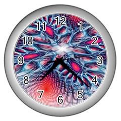 Creative Abstract Wall Clocks (silver)  by BangZart