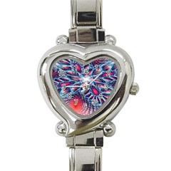 Creative Abstract Heart Italian Charm Watch