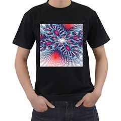 Creative Abstract Men s T Shirt (black)